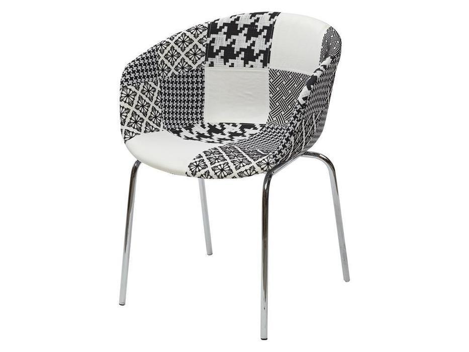 Megapolis стул  (белый, черный) Art