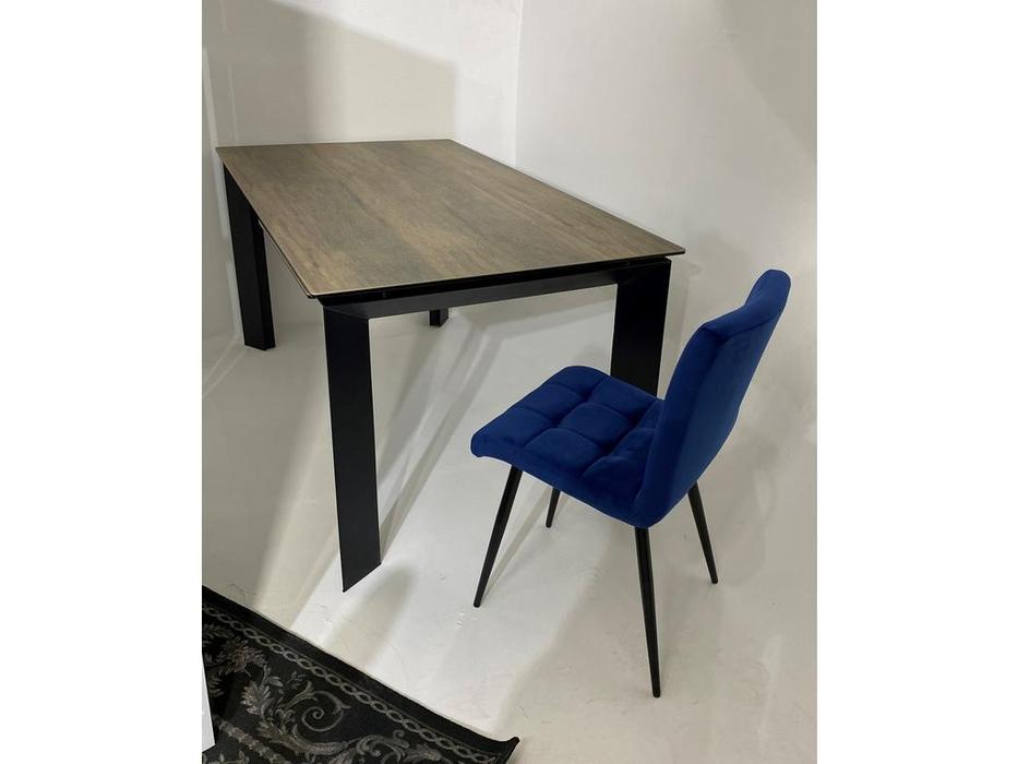 Megapolis стол обеденный раскладной (дерево, черный) Cremona