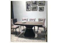 Megapolis стол обеденный раскладной (серый, вулканический пепел) Severin