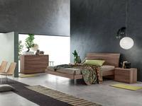 Santa Lucia кровать двуспальная Lotus 180х200 (коричневый) Projecta