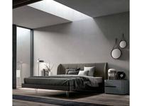 Santa Lucia кровать двуспальная 160х195 Scirocco (коричневый) Projecta
