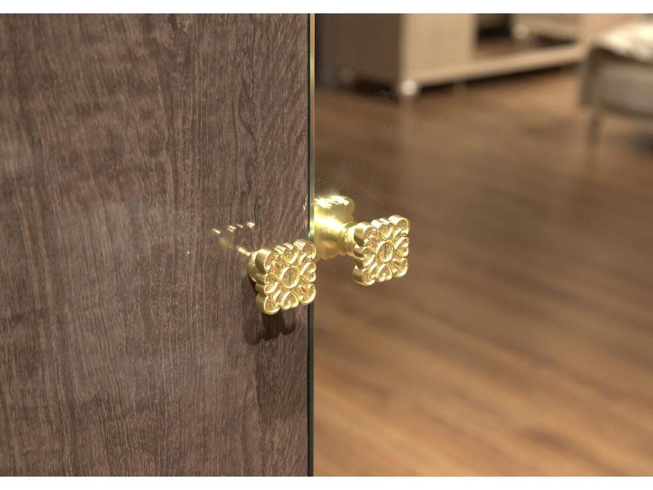 HFI шкаф 3 дверный 3 дверный (венге, ткань) Комино