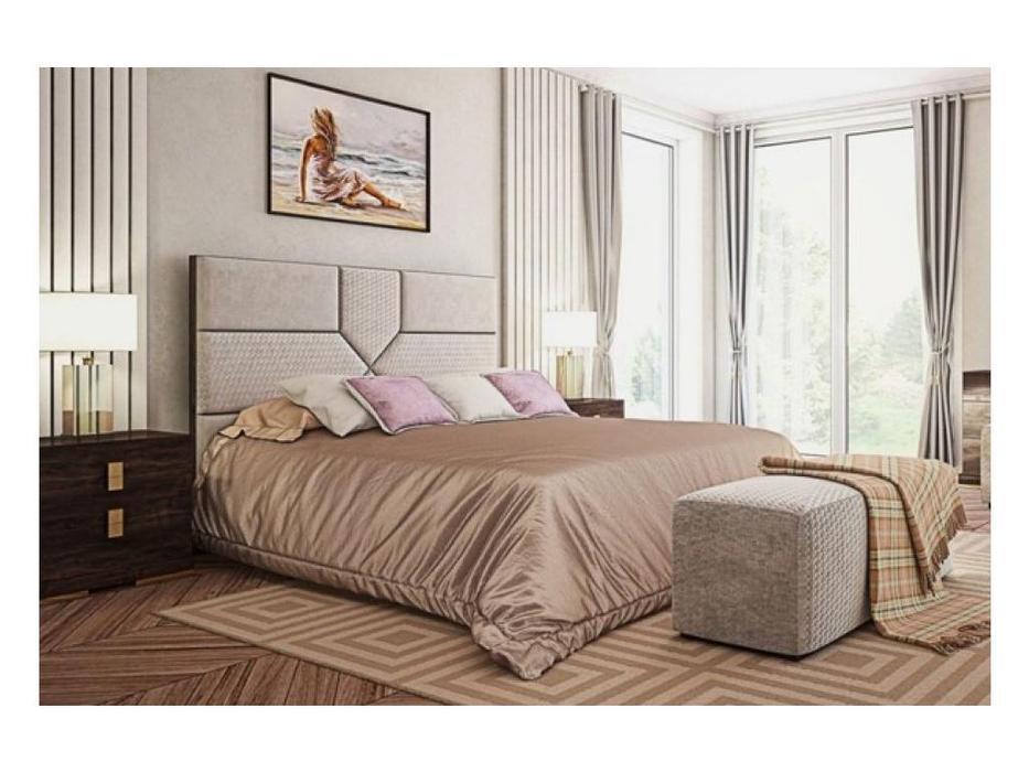 HFI кровать двуспальная 160х200 (венге) Комино