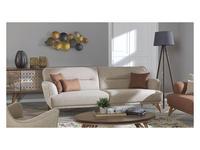 Rendi диван 3 местный  (бежевый) Lal