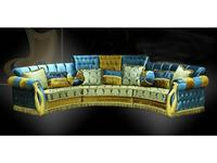 Ustie диван эркерный  (ткань) Валенсия