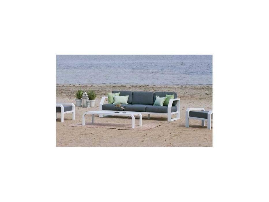 Hevea диван 3 местный  (белый) Zafiro