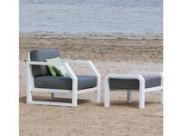 Hevea кресло  (белый) Zafiro