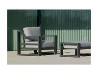 Hevea кресло  (антрацит) Rosenborg