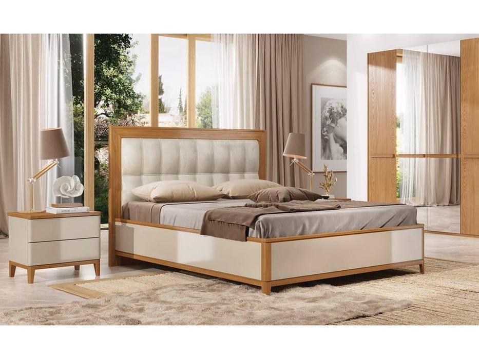ММ кровать двуспальная 160х200 (орех, мокко) Модена