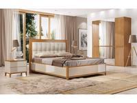 ММ спальня современный стиль  (орех, мокко) Модена