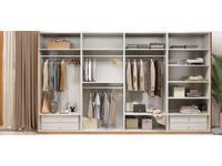 ММ гардеробная система  (орех, мокко) Модена