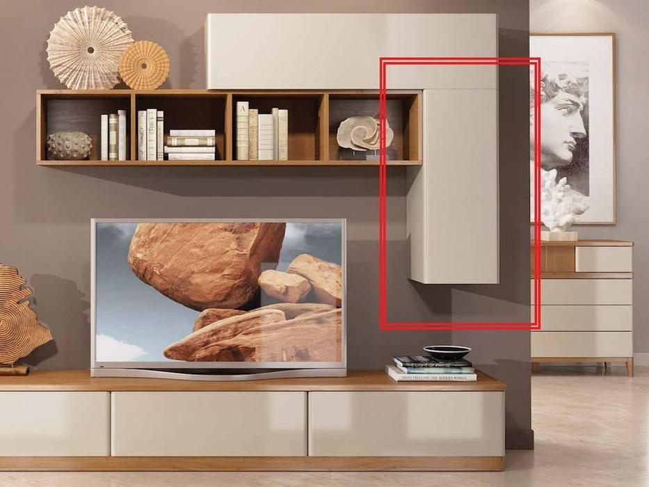 ММ шкаф навесной вертикальный (мокко) Модена