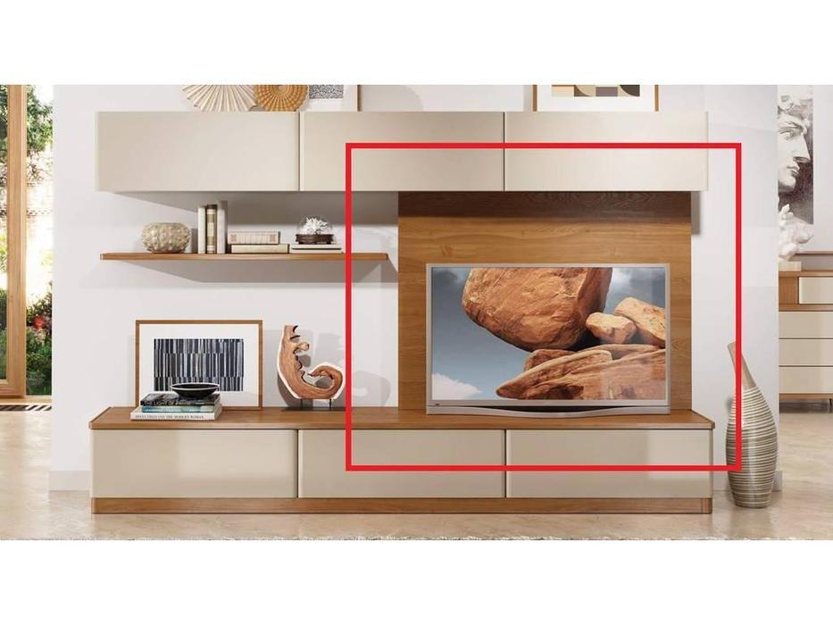 ММ панель настенная для ТВ (орех) Модена