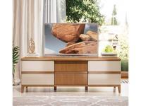 ММ тумба под телевизор  (орех, мокко) Модена
