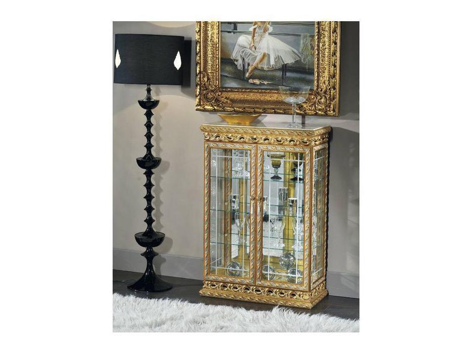 Tarocco Vaccari витрина низкая (золото) Complementi