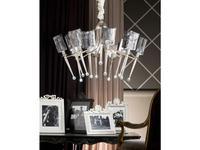 Euro Lamp Art люстра подвесная  (сребро) Elenoire