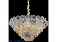 Wertmark люстра подвесная  (белое золото, хрусталь) Brigitta