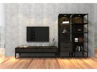 Mod Interiors гостиная современный стиль  (эбеновое дерево) Benissa
