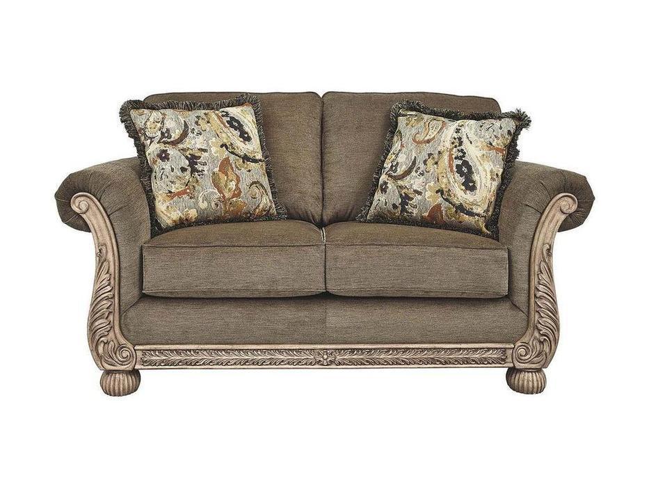 Ashley диван 2 местный  (светло коричневый) Richburg