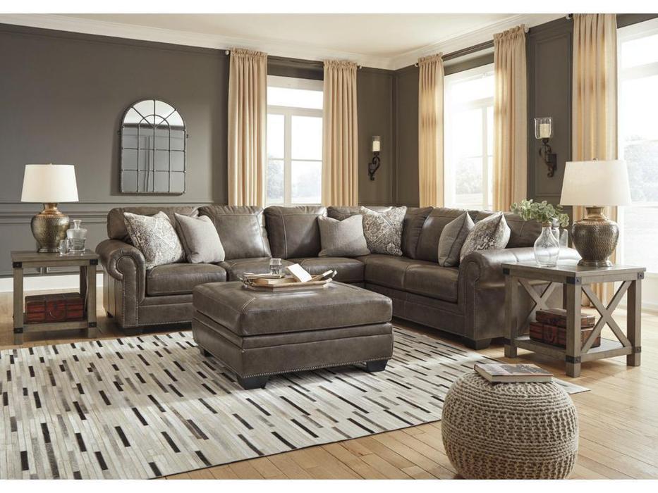 Ashley диван угловой модульный (коричневый) Roleson