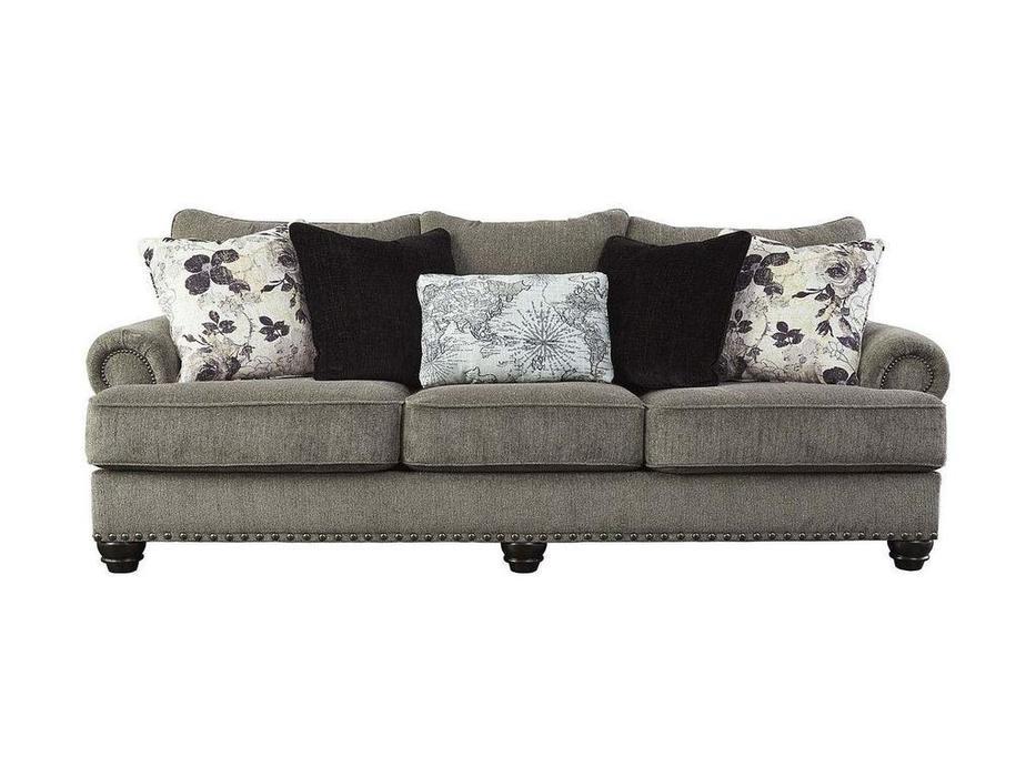 Ashley диван 3 местный  (серый) Sembler