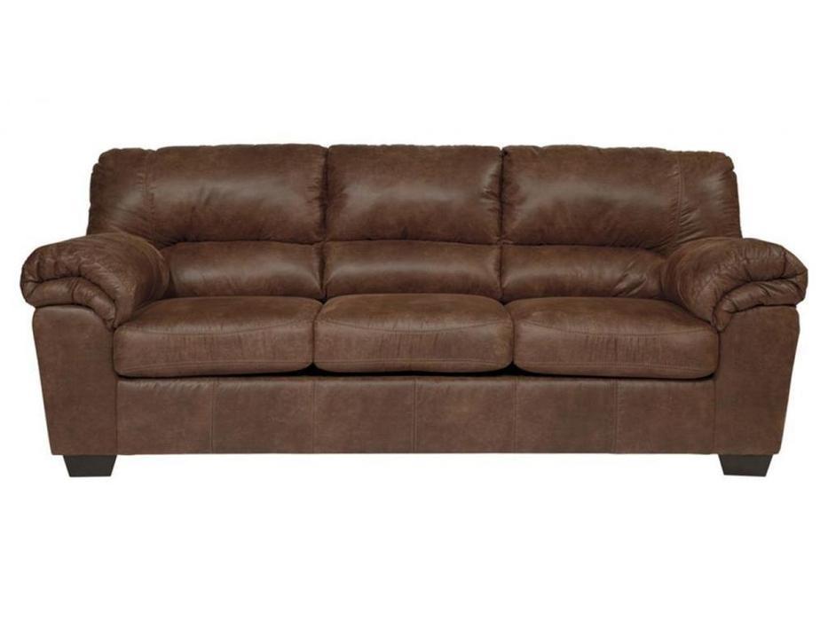 Ashley диван 3 местный  (коричневый) Bladen