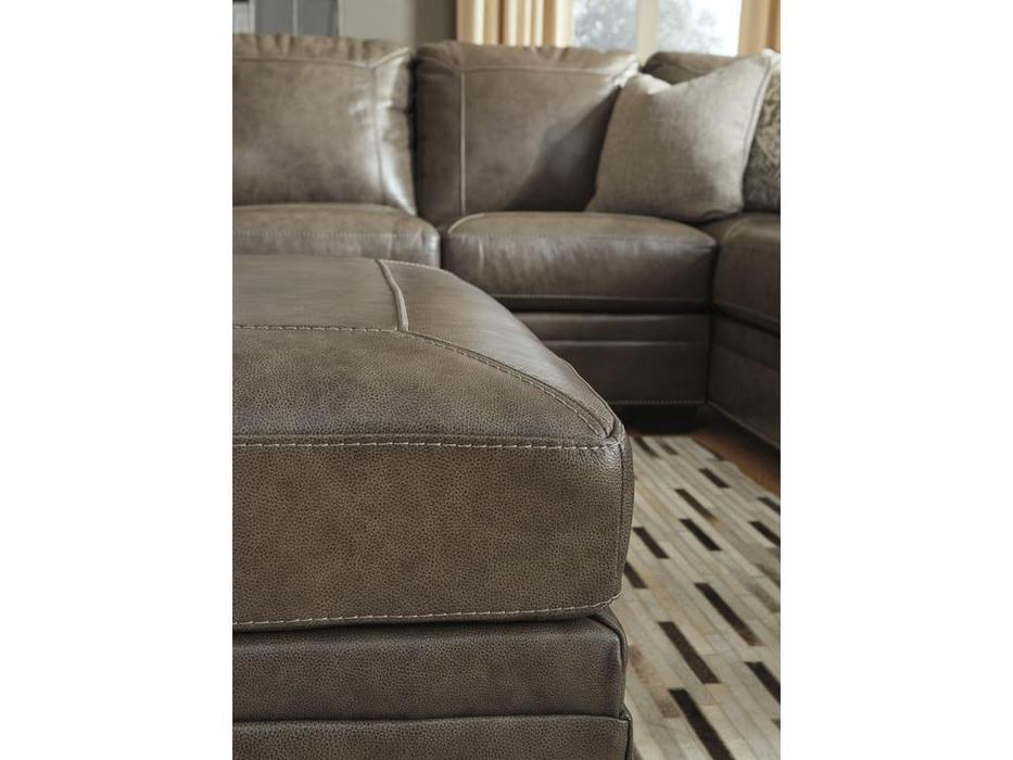 Ashley диван угловой 58703-55-49 (коричневый) Roleson