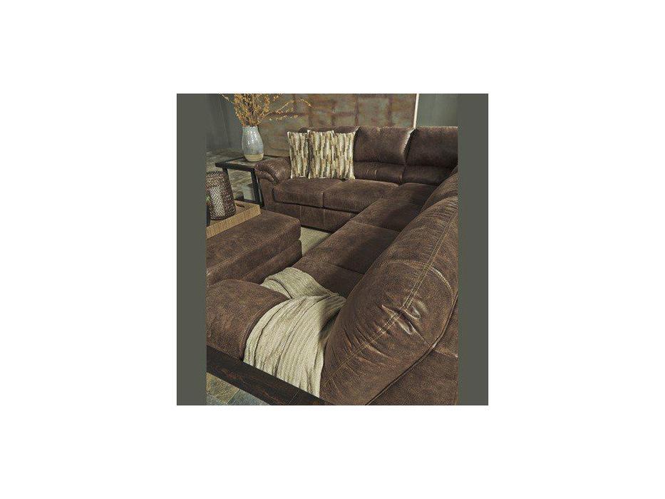 Ashley диван угловой  (коричневый) Bladen