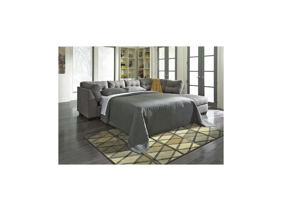 Ashley диван угловой раскладной (серый) Maier