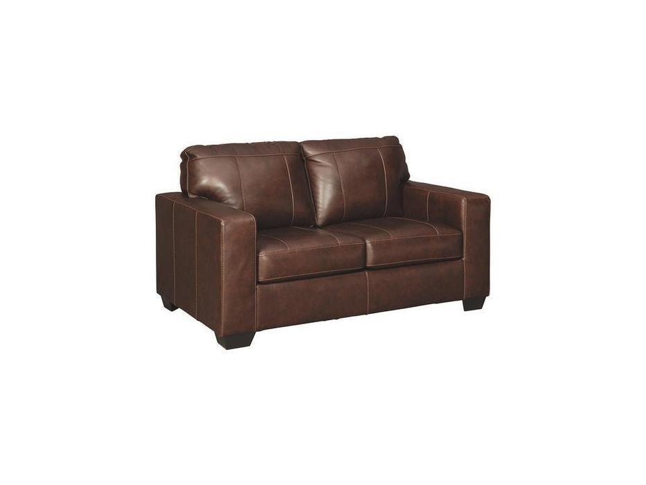 Ashley диван 2 местный (коричневый) Morelos