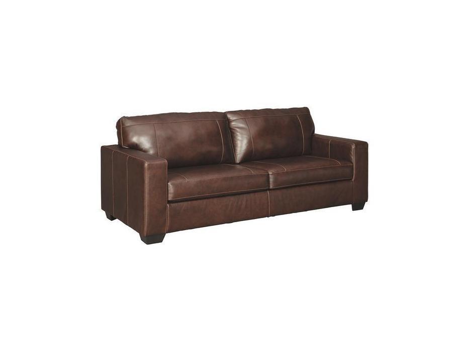 Ashley диван 3 местный  (коричневый) Morelos