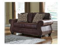 Ashley диван 2 местный  (коричневый) Breville