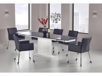 Halmar стол обеденный раскладной (черно-белый) Anderson