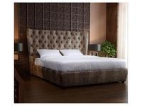 RFS кровать 180х200 с подъем.мех. (серо бежевый) Селена