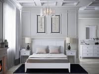 RFS кровать двуспальная  (молочный) Бруклин
