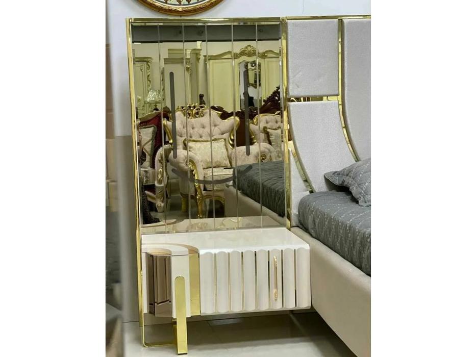 FurnitureCo тумба прикроватная  (беж) Luxury