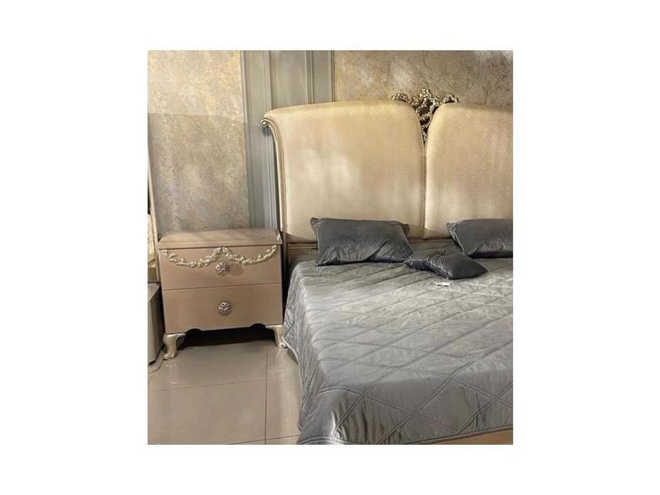 FurnitureCo тумба прикроватная  (крем) Sherilyn