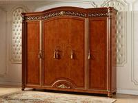 FurnitureCo шкаф 5 дверный  (орех) Атанасия