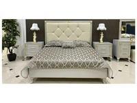 FurnitureCo спальня барокко  (жемчуг) Stella
