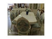 FurnitureCo стол обеденный раскладной 240-300 (беж) Капри В