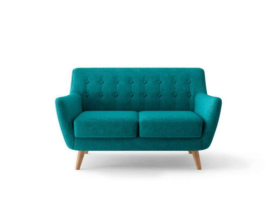Bradexhome диван 2 местный  (тёмно-бирюзовый) Picasso