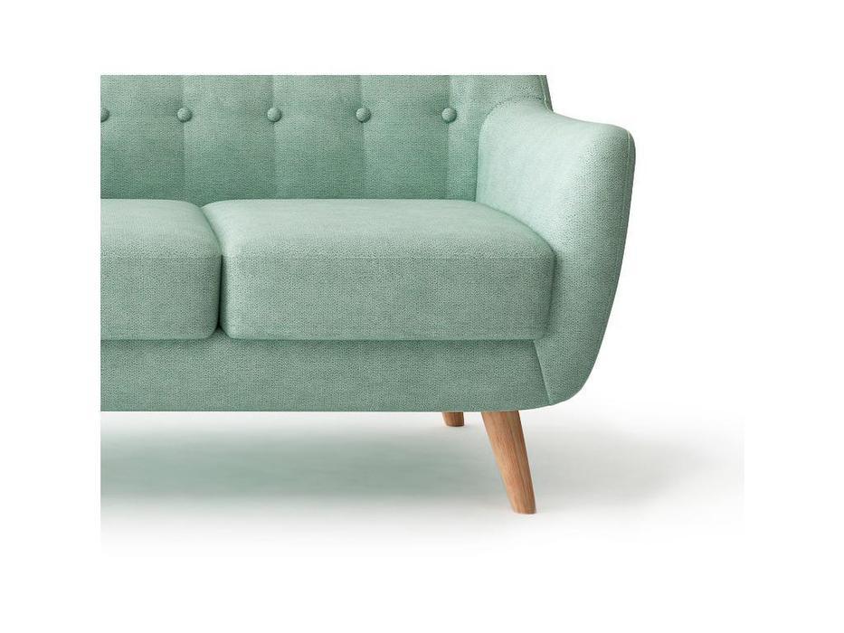 Bradexhome диван 3 местный  (бирюзовый) Picasso