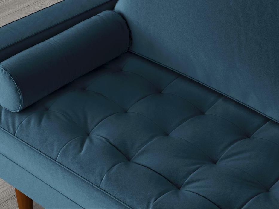 Bradexhome диван 2 местный  (синий) Scott