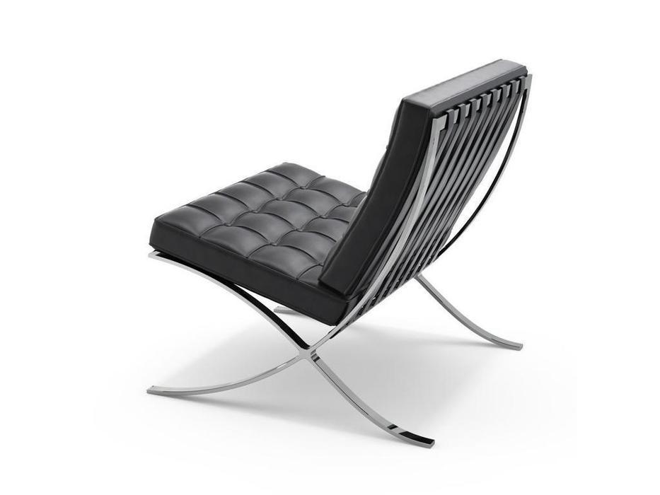 Bradexhome кресло  (чёрный) Barcelona