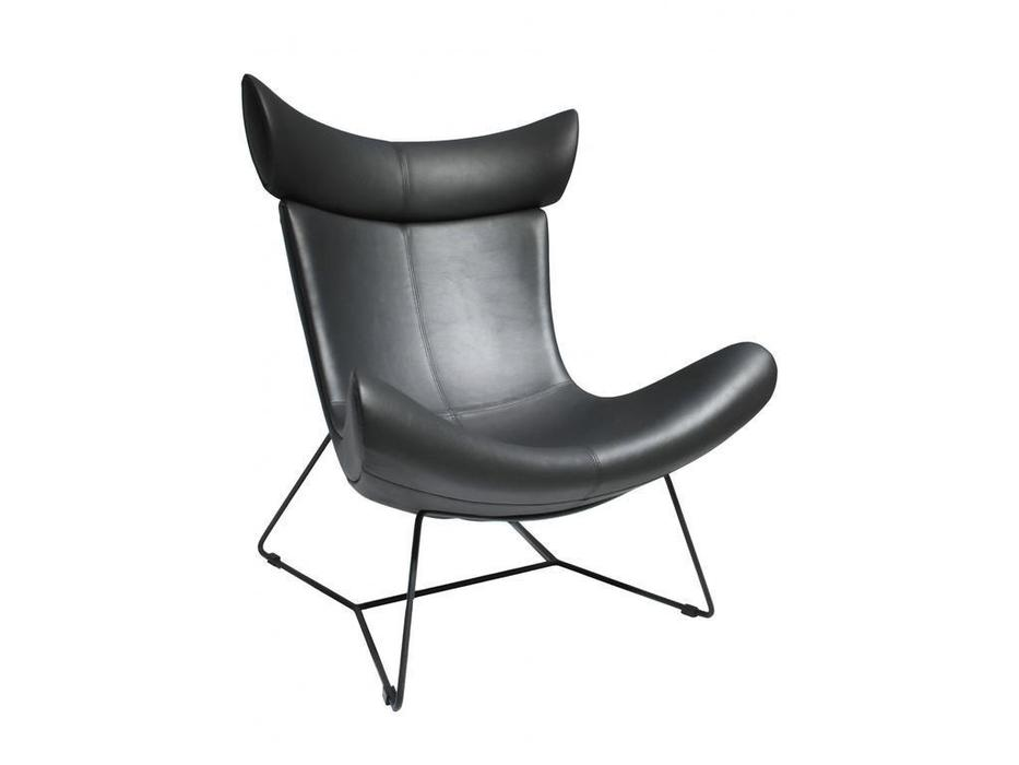 Bradexhome кресло  (чёрный) Imola