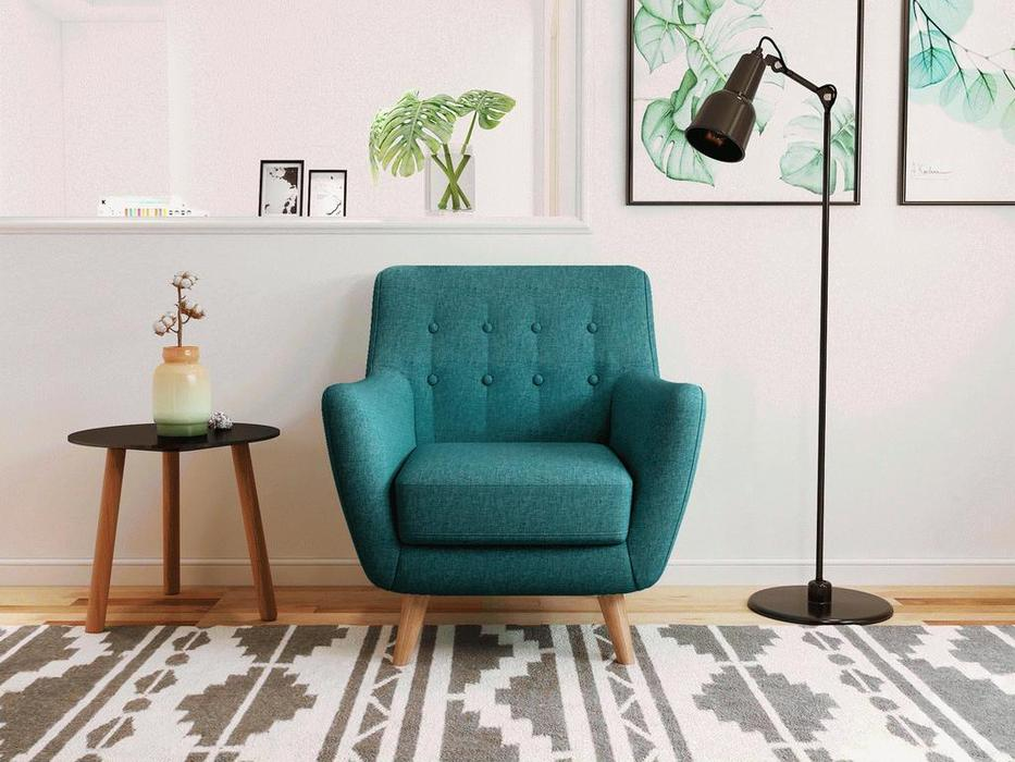 Bradexhome кресло  (тёмно-бирюзовый) Picasso