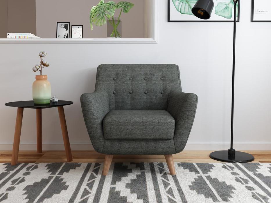 Bradexhome кресло  (темно-серый) Picasso