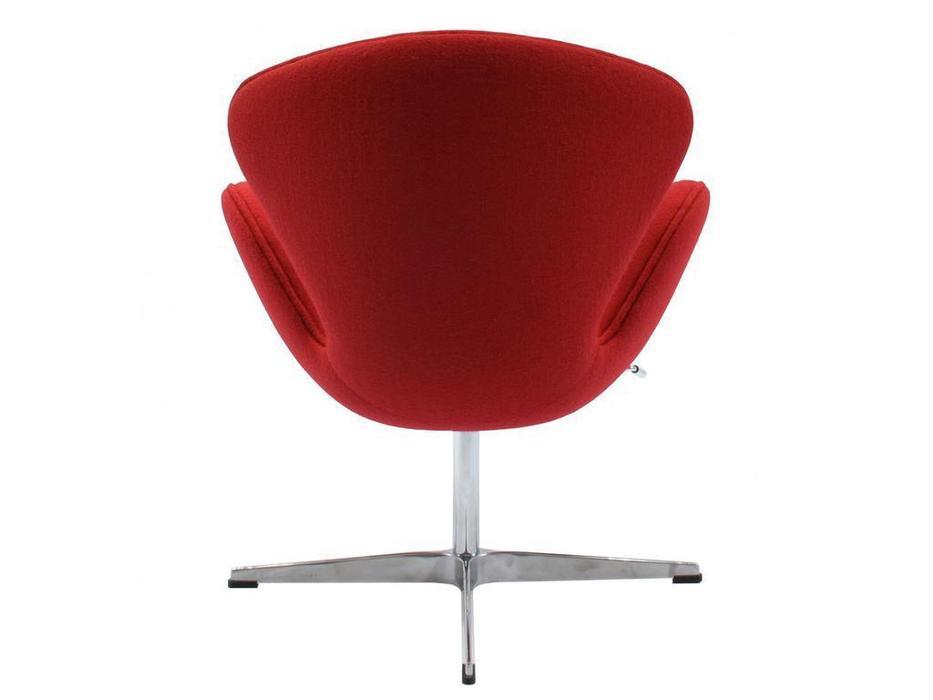 Bradexhome кресло  (красный) Swan Chair