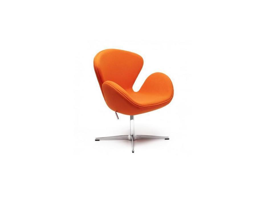 Bradexhome кресло  (оранжевый) Swan Chair