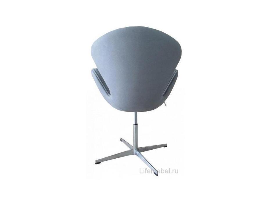 Bradexhome кресло  (светло-серый) Swan Chair